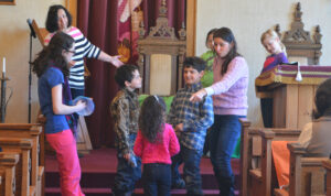 Children at Youth Religious School
